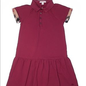 Girl Burberry dress